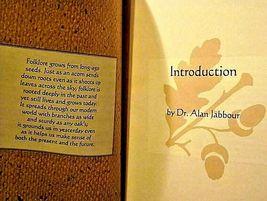 North American Folklore FOLK SONGS Book AA19-1378 image 3