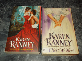 Karen Ranney lot of 2 historical romance paperbacks - $1.99