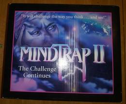 MindTrap II / Mind Trap 2 Board Game Challenge (Pressman #3620, 1997) Complete - £17.99 GBP