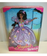 Songbird Barbie Doll : Teresa Brand New In Box - Damage To Box - Top Label - $19.79