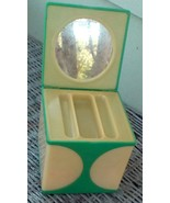 Beauty Box. Vintage 1960's Box. Makeup or Trinket. Made in Hong Kong.  G... - $20.00