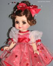 "Marie Osmond Adoring Hearts Adora Belle Full Porcelain 12"" doll New in Box COA - $49.49"