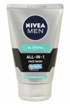 100 gm Nivea Men All In 1 Oil Control Face Wash  free shipipng - $9.02