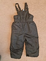 USED Excellent Conditions Toddler Boys 2T Snow Pants Bib Overalls  - $7.99