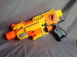 Nerf Barricade RV-10 N-Strike Semi-Automatic Electric Blaster - $14.00