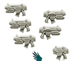Spellcrow Conversion Bits: Space Knights Rapid Guns (Empire Pattern)