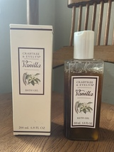 Crabtree & Evelyn Vanilla Bath and Shower Gel Rare Discontinued  - $57.00