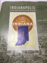 Vintage Indianapolis, Indiana 1965 Telephone Book Metropolitan Area Dire... - $34.39