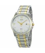 NEW Men's Citizen BM7264-51A Eco-Drive Two-Tone Watch Date Roman Numerals - $115.00