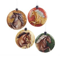 Capiz Horse Disc Ornament - $12.95