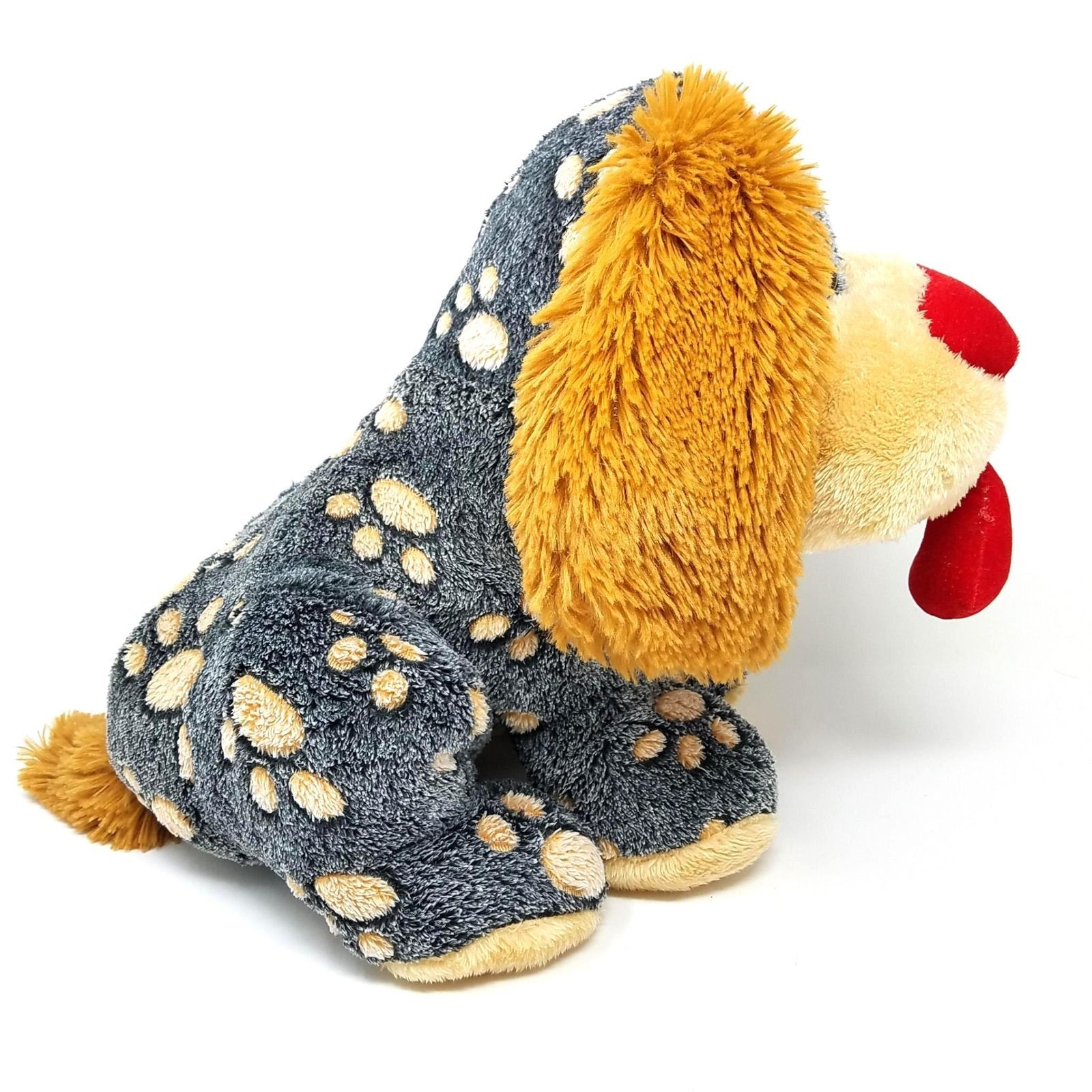 906337a52fe00 Dan Dee Collectors Choice Spotted Puppy Dog Plush Heart Nose 13