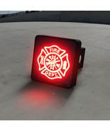 Firefighters Maltese Cross LED Hitch Cover - Brake Light - $49.95