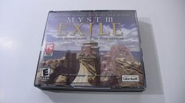 Myst III: Exile PC Game (Ubisoft, 2001) - $5.22
