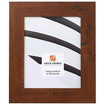 "24x36 Poster Frame, Smooth Wood Grain Finish, 2"" Wide, Dark Brown Rustic... - $995,19 MXN"