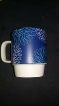 2016 Starbucks Coffee Mug | Blue Floral Starbucks Mug 12 Fl Oz - $6.50