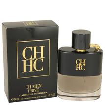 CH Prive by Carolina Herrera Eau De Toilette Spray 1.7 oz for Men - $72.95