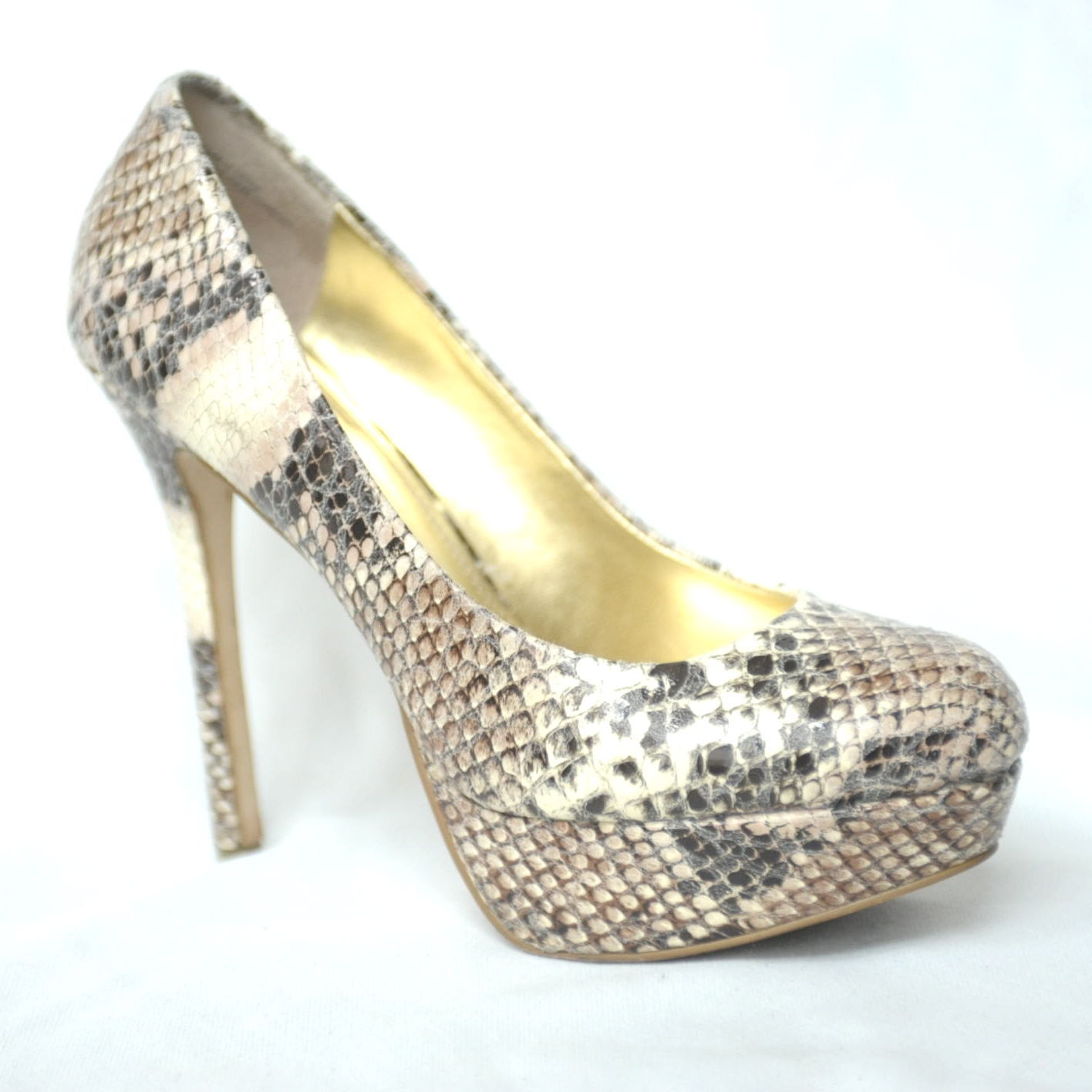 b84ab4974bb Bakers MELINA Snakeskin Print 5+ IN High and 22 similar items