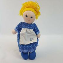 Vintage 1986 Dakin Blue Bonnet Sue Cloth Doll Nabisco  - $9.46