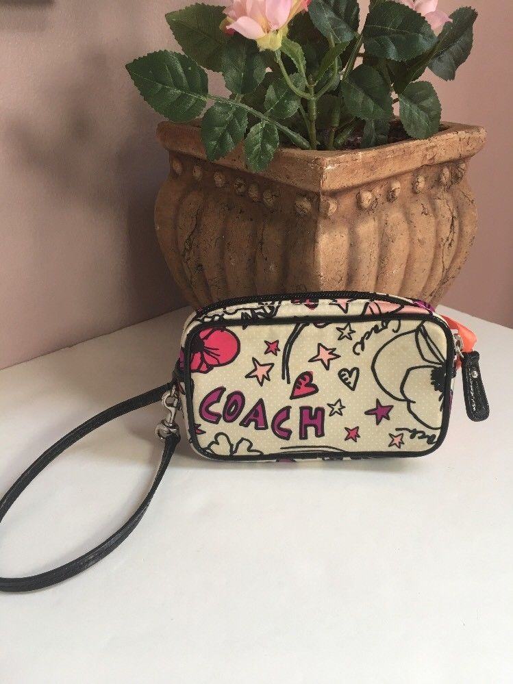 Coach Poppy Kyra East West Multi Purse And 50 Similar Items