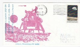 APOLLO 11 ARMSTRONG & ALDRIN STEP ON MOON COLORADO SPRINGS CO 7/20/69 #3... - $2.98