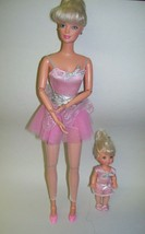 Ballerina Barbie Doll with Sister Kelly - $28.04