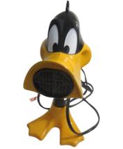 Salton Daffy Duck Hair Dryer vintage Looney Tunes Warner Brothers 2 speed  - $49.49