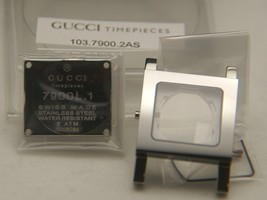 NIB Gucci  Replacement Case Set  -7900 L.1 - Stainless Steel - $99.95