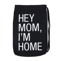 About Face Designs Hey Mom, I'M Home Laundry Bag, One size, Black - $49.79 CAD
