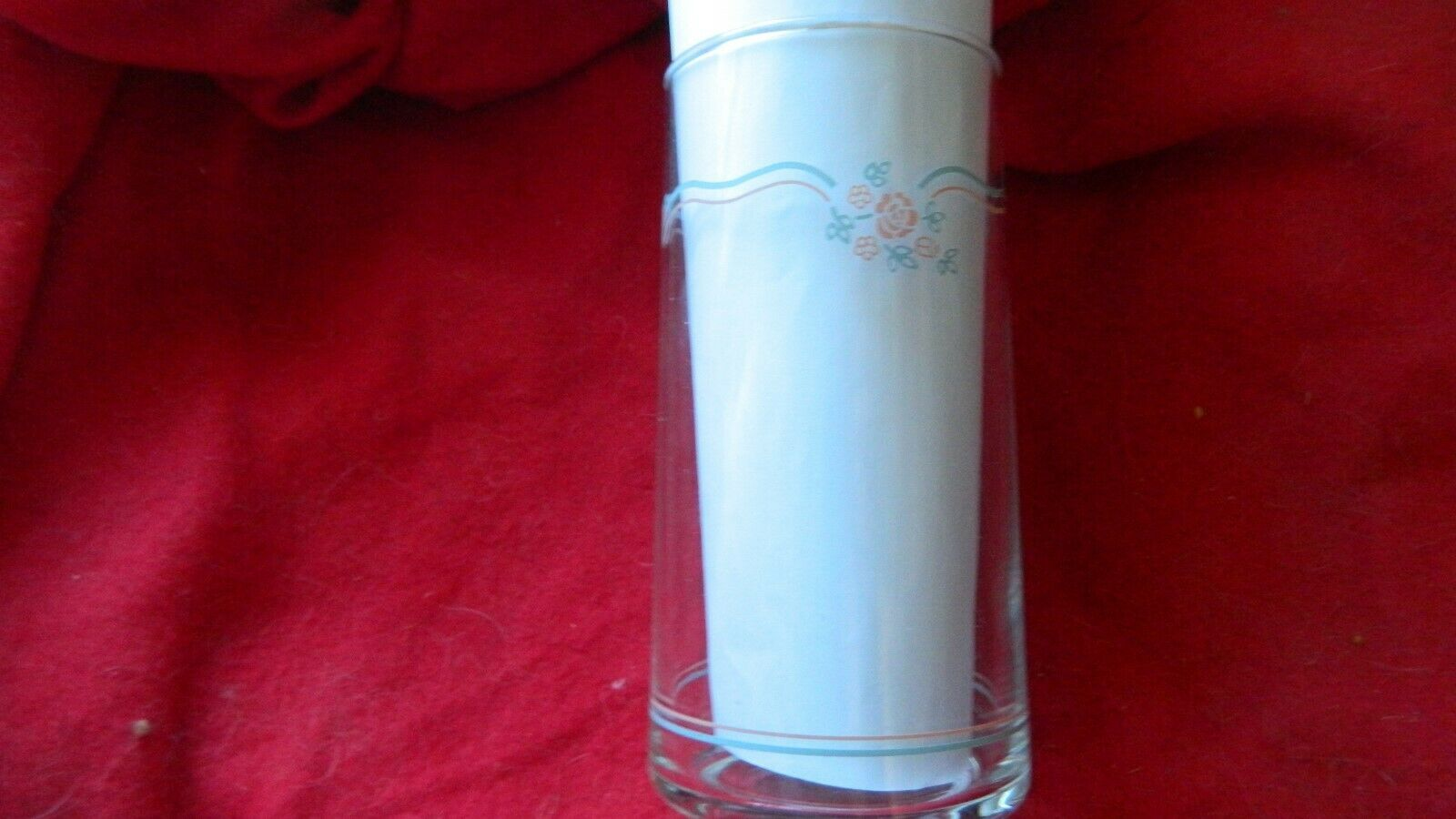 Primary image for CORELLE ENGLISH BREAKFAST 16 OZ ICE TEA TUMBLER DRINKING GLASS x1 FREE USA SHIP