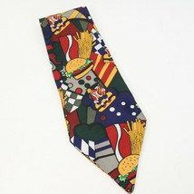 Burger King Vintage Novelty Tie Necktie *RARE made By Clipper - $48.99