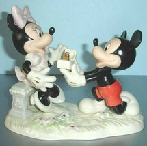Lenox Minnie's Dream Proposal Mickey Mouse & Friends Disney Figurine New - $129.60
