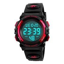 Kids Watch Multi Function 50M Waterproof Sport LED Alarm Stopwatch Digital Child