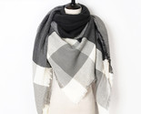 Er scarf for women scarf luxury brand triangle plaid warm cashmere scarves blanket thumb155 crop