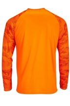 Sun Protection Long Sleeve Dri Fit Safety Neon Orange shirt Camo Sleeve SPF 50+ image 3