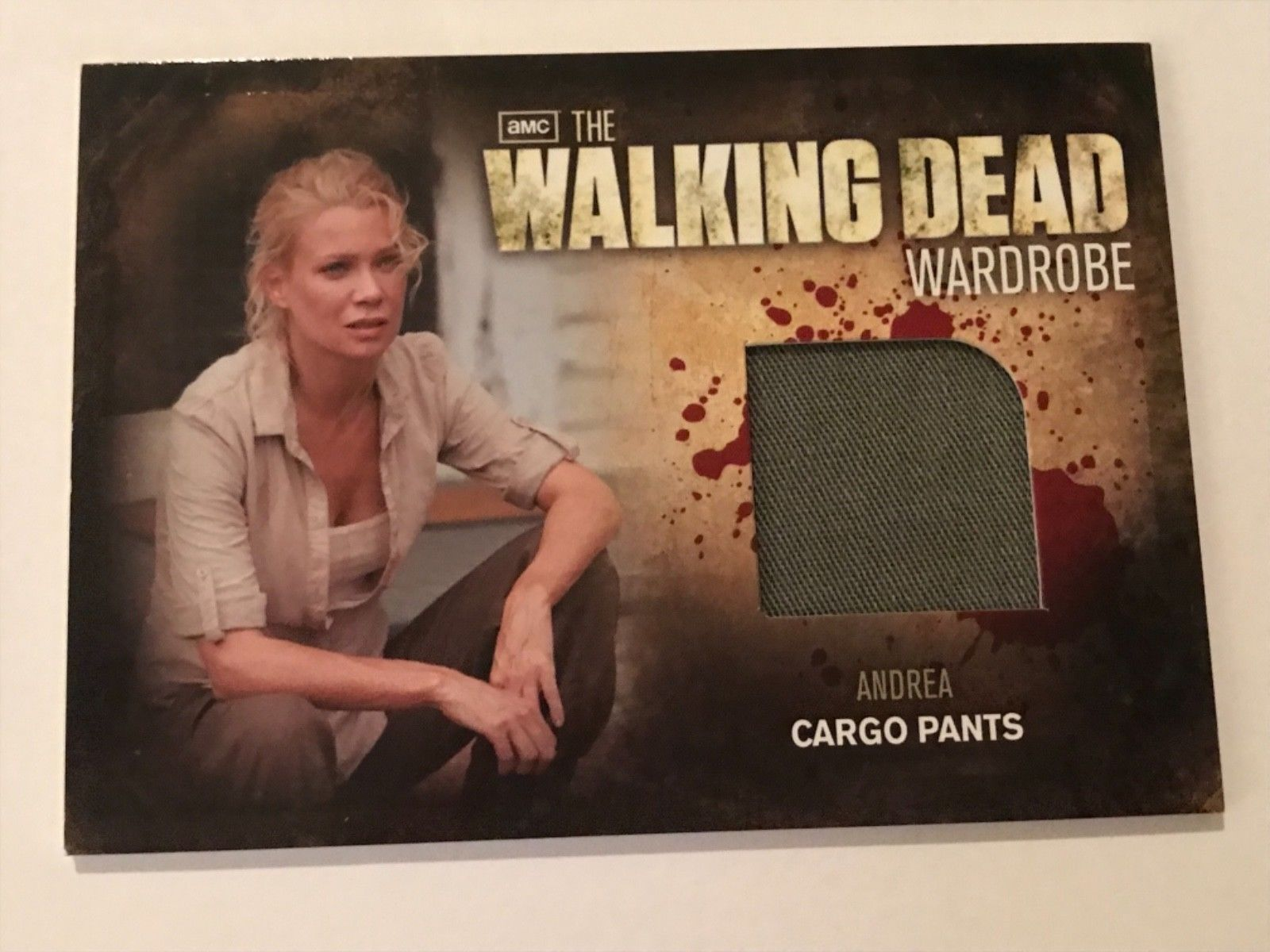 Primary image for Cryptozoic Walking Dead Season 2 Wardrobe Laurie Holden as Andrea M19
