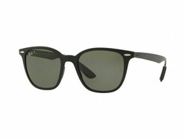 Ray Ban Sunglasses RB4297 601S9A 51MM Matte Black Green Polarized - $98.99