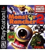 Monster Rancher 2 PS1 Great Condition Fast Shipping - $33.94