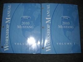 2010 FORD MUSTANG GT COBRA MACH Service Shop Repair Workshop Manual Set OEM - $89.09