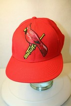 STL Cardinals MLB American Needle Cooperstown fitted Size 8 Red Dad Cap Hat - $49.95