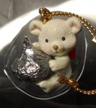 Enesco Hershey's Christmas Ornament 1992 Bearly Kissed Original Presenta... - $8.99