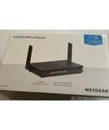 NETGEAR Ax1800 Dual Band WiFi 6 Router Black Rax20-100nas - $87.29