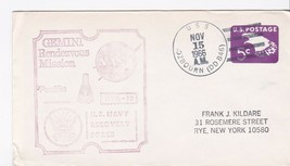 USS OZBOURN DD-846 US NAVY RECOVERY FORCE GTA-12 11/15/1966 PACIFIC - $2.68