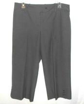 Ann Taylor Capri Cropped Pants Career Casual Women Size 8 Black White Check - $3.71