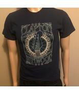 Eric Clapton Steve Winwood North American Concert Tour 2009 Shirt Navy S... - $24.18