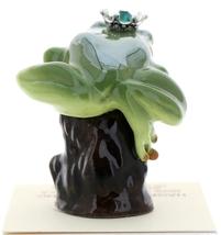 Hagen-Renaker Miniature Tree Frog Figurine Birthstone Prince 05 May Emerald image 3