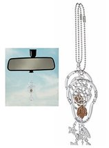 Car Charm Spinning Dreamcatcher charm Dreams come True Rearview Mirror G... - $281,16 MXN