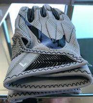 NIKE SUPERBAD 4 FOOTBALL GLOVES GREY/BLACK BRAND NEW SIZE LARGE (PGF419-012)  image 5
