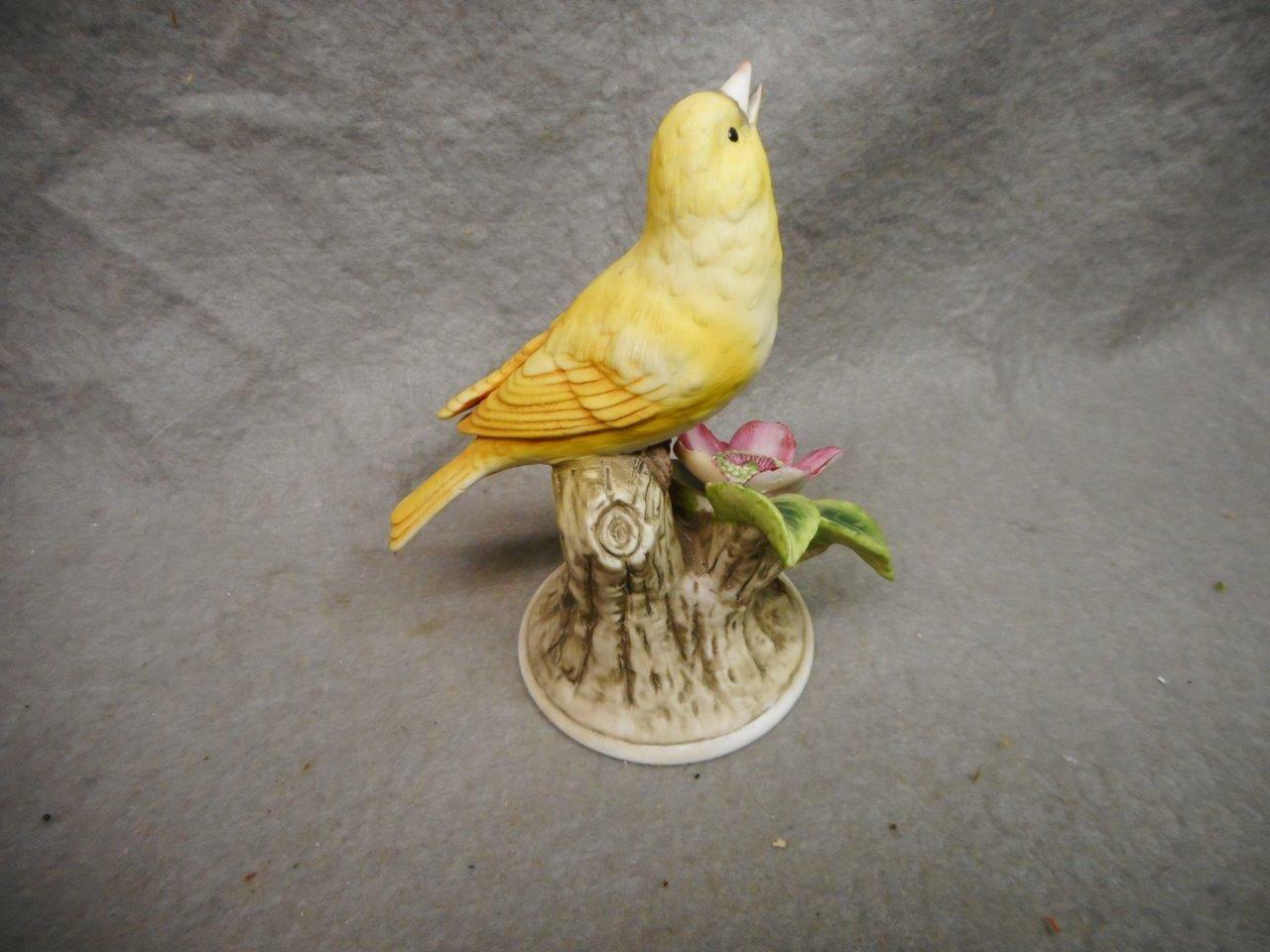 """Vintage Andrea By Sadek """"Canary"""" 8627 Figura 14cm de Alto Japón N / R,"""