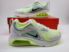 NEW Nike Air Max 200 Women Sz 9 Green White Running Shoes Sneakers CI386... - $107.91