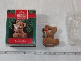 Hallmark  Keepsake Ornament Handcrafted Beary Good Deal 1990 Pre-Owned - $16.33